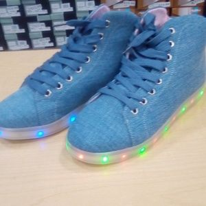 Other - Light up sneakers with charger